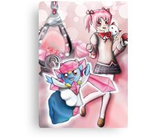 Pokemon Diancie Canvas Print