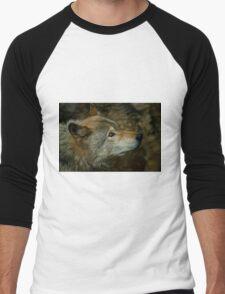 Timber Wolf Men's Baseball ¾ T-Shirt
