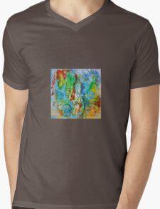 Seahorse Folly Mens V-Neck T-Shirt