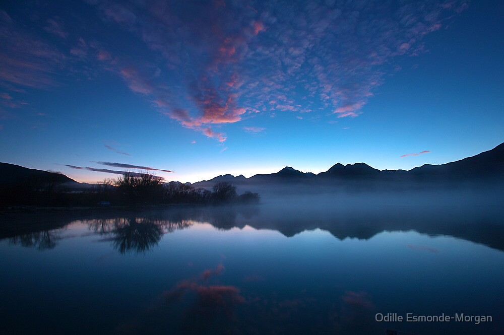 Blue Dawn, Kinloch NZ by Odille Esmonde-Morgan