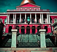 """Massachusetts State House"" - Boston, Massachusetts by jscherr"
