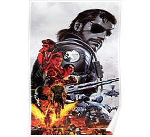 Metal Gear Solid 5 - The Phantom Pain Poster