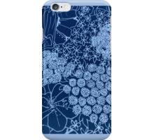 Flower Blue iPhone Case/Skin