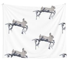 Starry Bunny Wall Tapestry