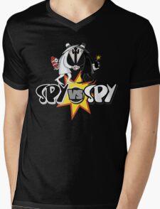 Spy VS Spy Mens V-Neck T-Shirt