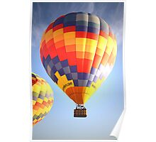 Early Morning Ballooning Poster