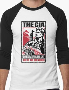 CIA 3rd World Men's Baseball ¾ T-Shirt