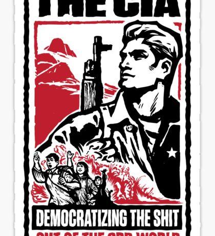 CIA 3rd World Sticker