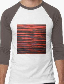 Sunset sky Men's Baseball ¾ T-Shirt