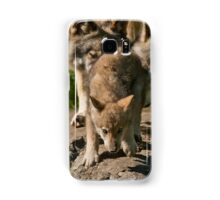 Timber Wolves And Pup Samsung Galaxy Case/Skin