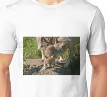 Timber Wolves And Pup Unisex T-Shirt
