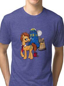 Doctor Whooves - Black Tri-blend T-Shirt