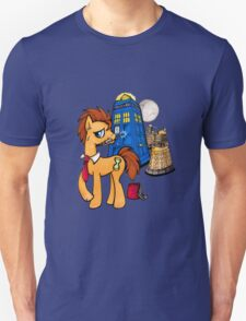 Doctor Whooves - Black Unisex T-Shirt