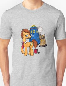 Doctor Whooves - Black T-Shirt