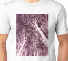 Branches Dark Pink Unisex T-Shirt