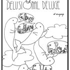 D is for Delusional Deluge of Dugongs by Aimée Becker