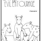 E is for Evil Entourage of Ekaltadetas by Aimée Becker