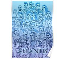 BBC Atlantis - characters appreciation Poster