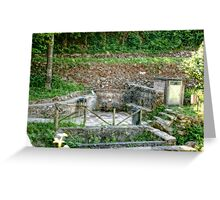 Fountains of Italy Greeting Card