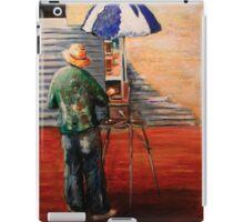 The Artist at work iPad Case/Skin