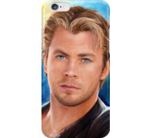 Chris Hemsworth Art iPhone Case/Skin