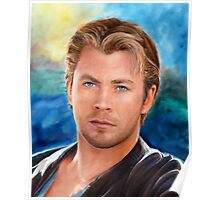 Chris Hemsworth Art Poster