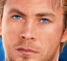 Chris Hemsworth Art Sticker