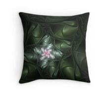 Floral Infusion Throw Pillow
