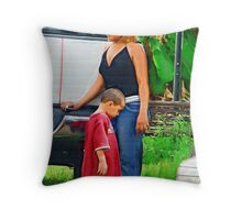 Querida Madre: I love you  ( Trailer Park America Series)  Throw Pillow
