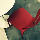 Little Red Chair by Caroline Fournier