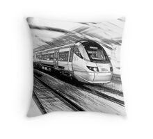 The Gautrain - High Speed Commuter Rail. Throw Pillow