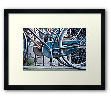 Pedals And Wheels Framed Print