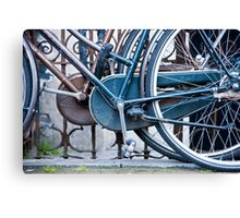 Pedals And Wheels Canvas Print