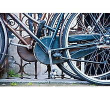 Pedals And Wheels Photographic Print