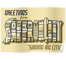 Greetings from Saffron City Poster