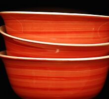Red Bowls by Mattie Bryant