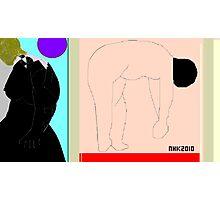 bo peep and the three bears 2 Photographic Print