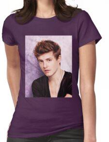 Xavier Samuel - Riley Biers Twilight Womens Fitted T-Shirt