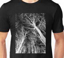 Branches lightning black and white - Ramas rayo blanco y negro Unisex T-Shirt