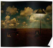 Illuminated silence Poster