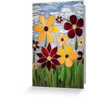 """""""Flowerscape"""" Greeting Card"""