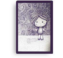 Dotty Doll Canvas Print