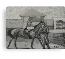 Taunton Races Canvas Print