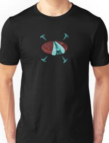 The Fly Head and the Nail Unisex T-Shirt