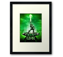 LINKTRON - Movie Poster Edition Framed Print