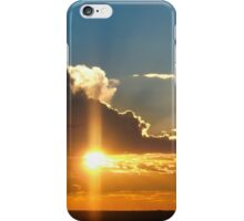 Beautiful sunset sky iPhone Case/Skin