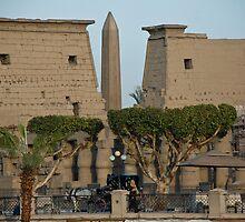 Luxor Temple by warriorprincess