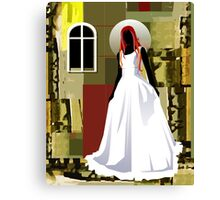 The wedding woman	 Canvas Print