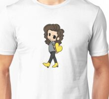 Gold Heart and Boots to Match Unisex T-Shirt
