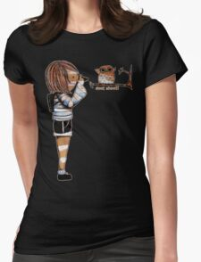 Smile Baby Wildlife Photographer Womens Fitted T-Shirt